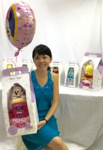 Adeline Baby Gift Box Diaper Cake