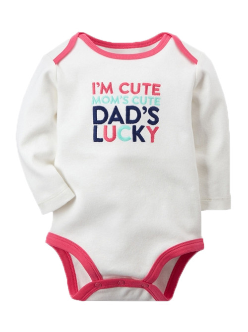 I'm Cute Dad's Lucky Carters Romper