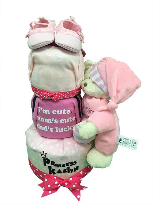 3 Tier Cute Bedtime Bear Baby Gift Hamper / Top 10 Unisex Baby Names Of 2016