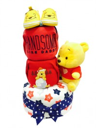 3 Tier Pooh Handsome Like Daddy Baby Gift Hamper
