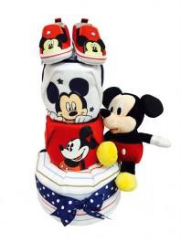 3 tier Red Mickey Baby Gift Hamper