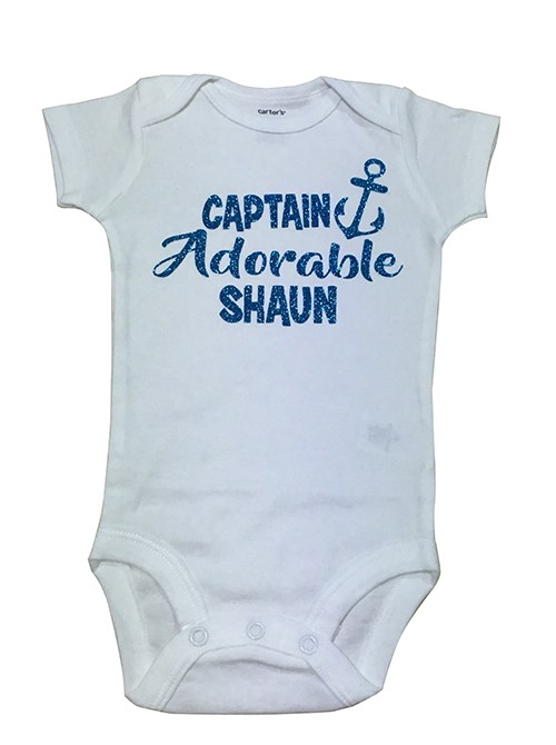 Blue Captain Adorable Romper 4 / Top 10 Unisex Names